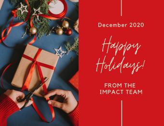 Happy Holidays from Impact