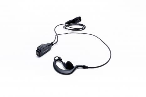 1-wire Surveillance Earpiece for Kenwood NX240 NX340 NX420 TK2160 RADIO
